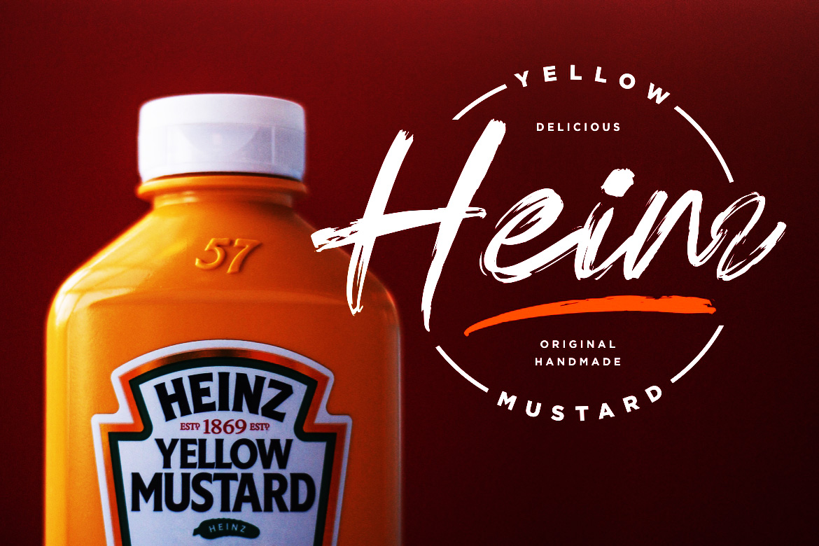 Hot Sauce Brush Font-3