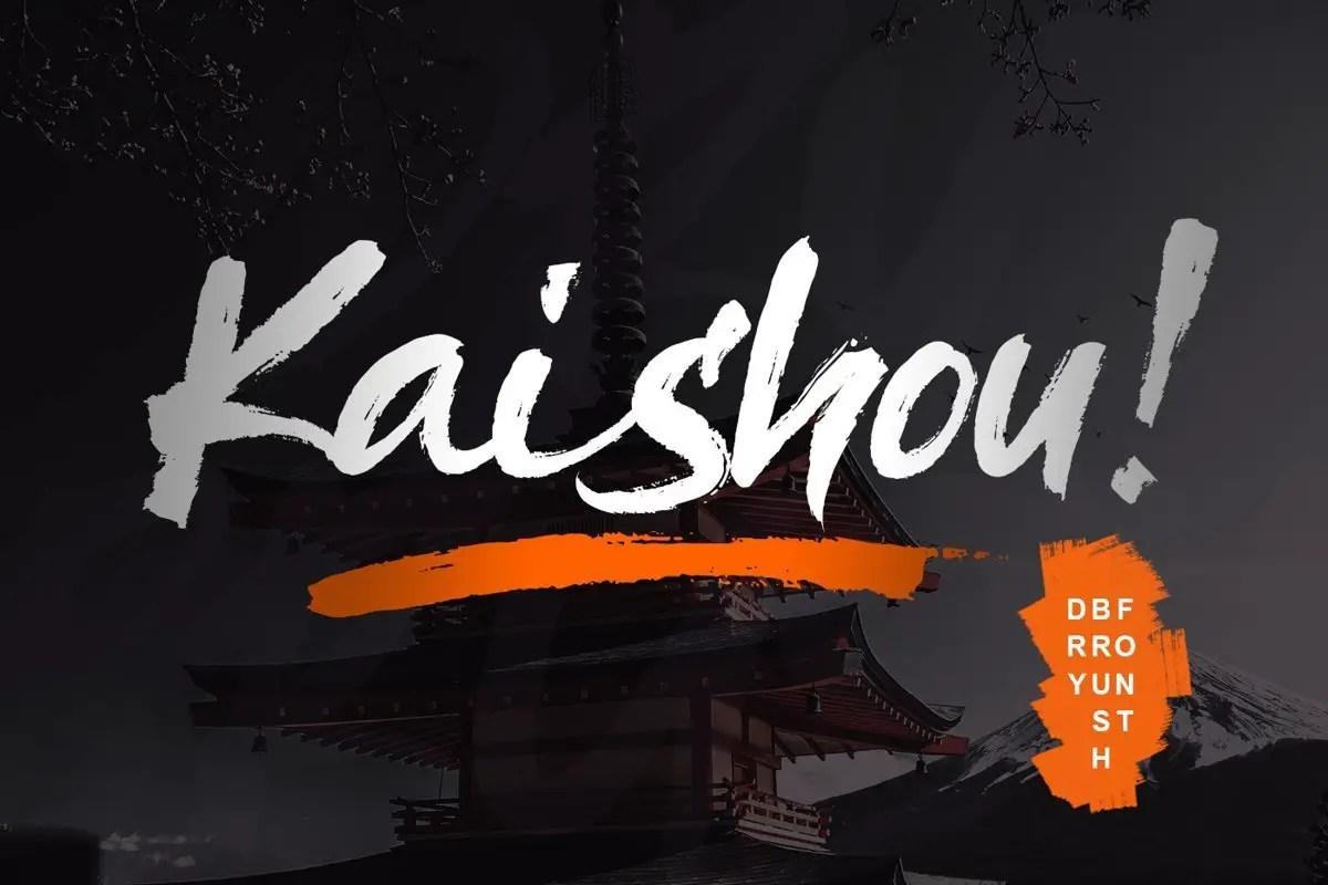 Kaishou-Brush-Script-Font-1