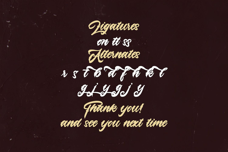 Lazyday Script Font-5