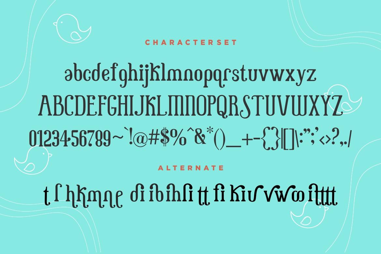 Little Baby Serif Font-3