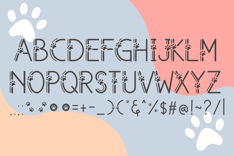 Meows Fancy Font-3