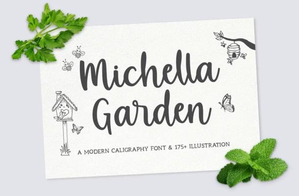 Michella Garden Script Font