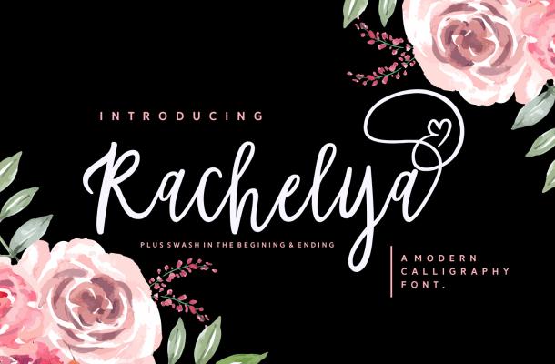 Rachelya Script Font