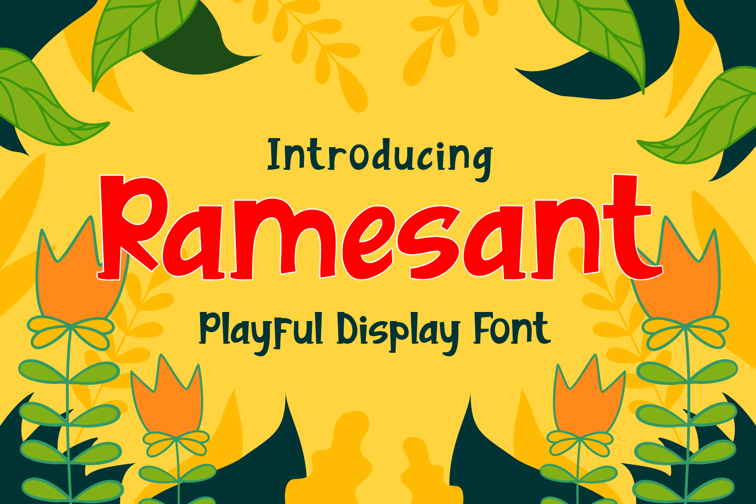 Ramesant Font by Dreamink (7NTypes)_1