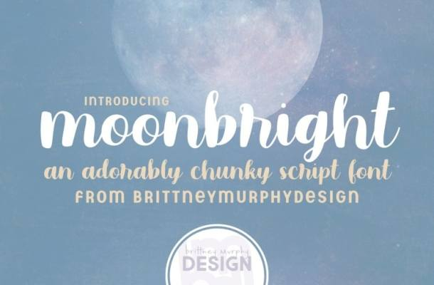 Moonbright Handwritten Font