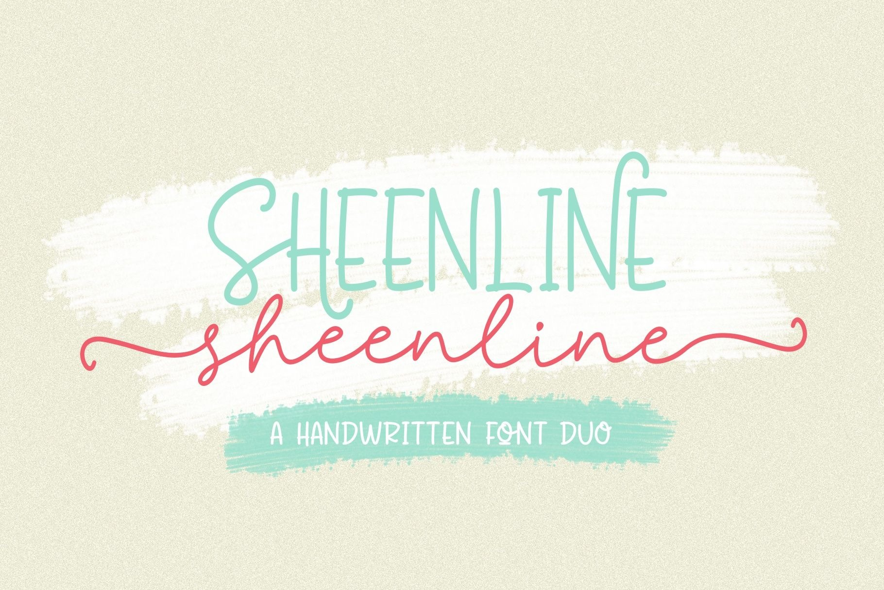 Sheenline Monoline Font Duo-1 (2)