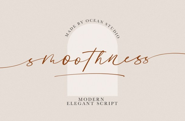 Smoothness Script Font