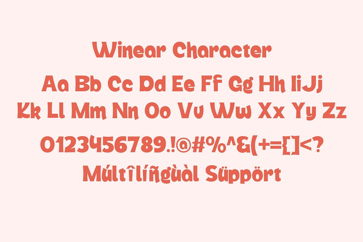 Winear-Display-Font-4