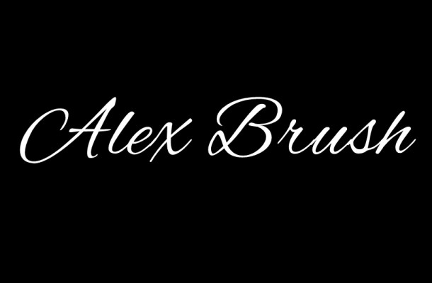 Alex Brush Font