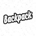 Backpack  Script Font