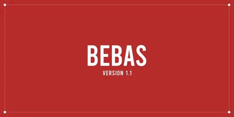 Bebas Font Free Download