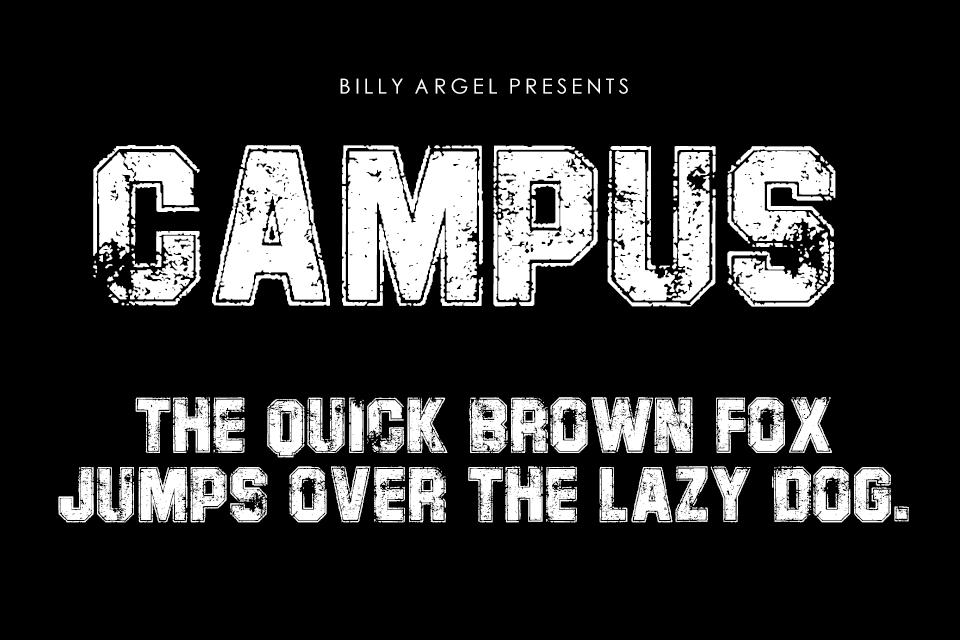 campus-personal-use-font-1-big