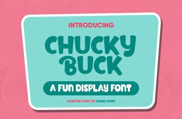 Chucky buck Font