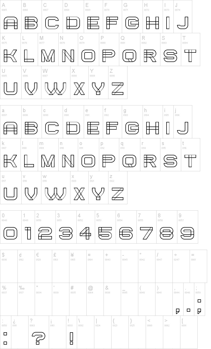 Created Font Family03