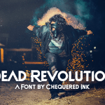 Dead Revolution Display Font