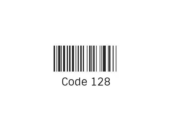 Code 128 Font