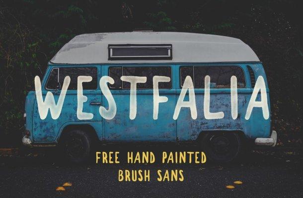 Westfalia Font Free