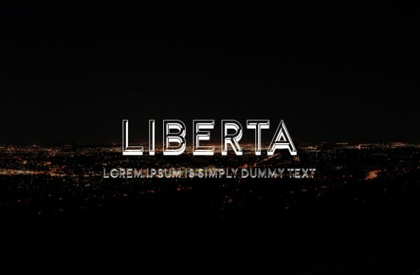 Liberta Fancy Font