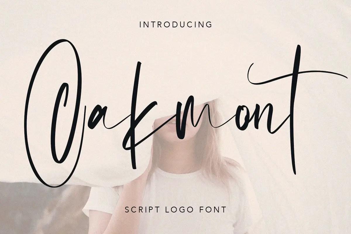oakmont-script-logo-handmade-font-1-