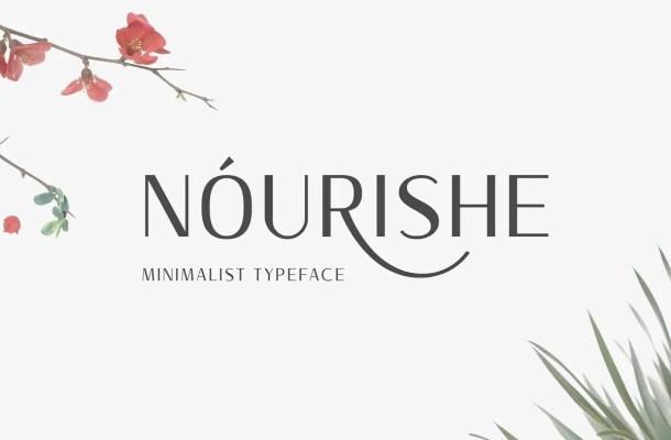 Nourishe Sans Serif Font