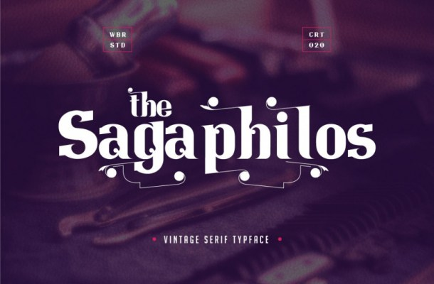 Sagaphilos Vintage Serif Font