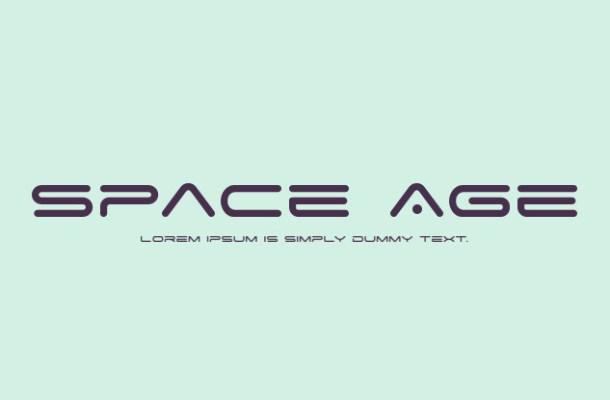 Space Age Techno Font