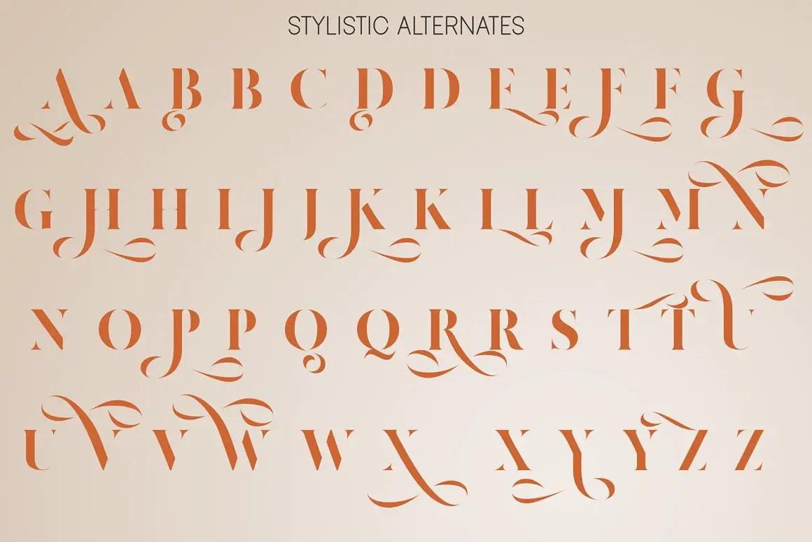 Amigh Modern Serif Font-3