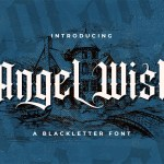Angel Wish Blackletter Font