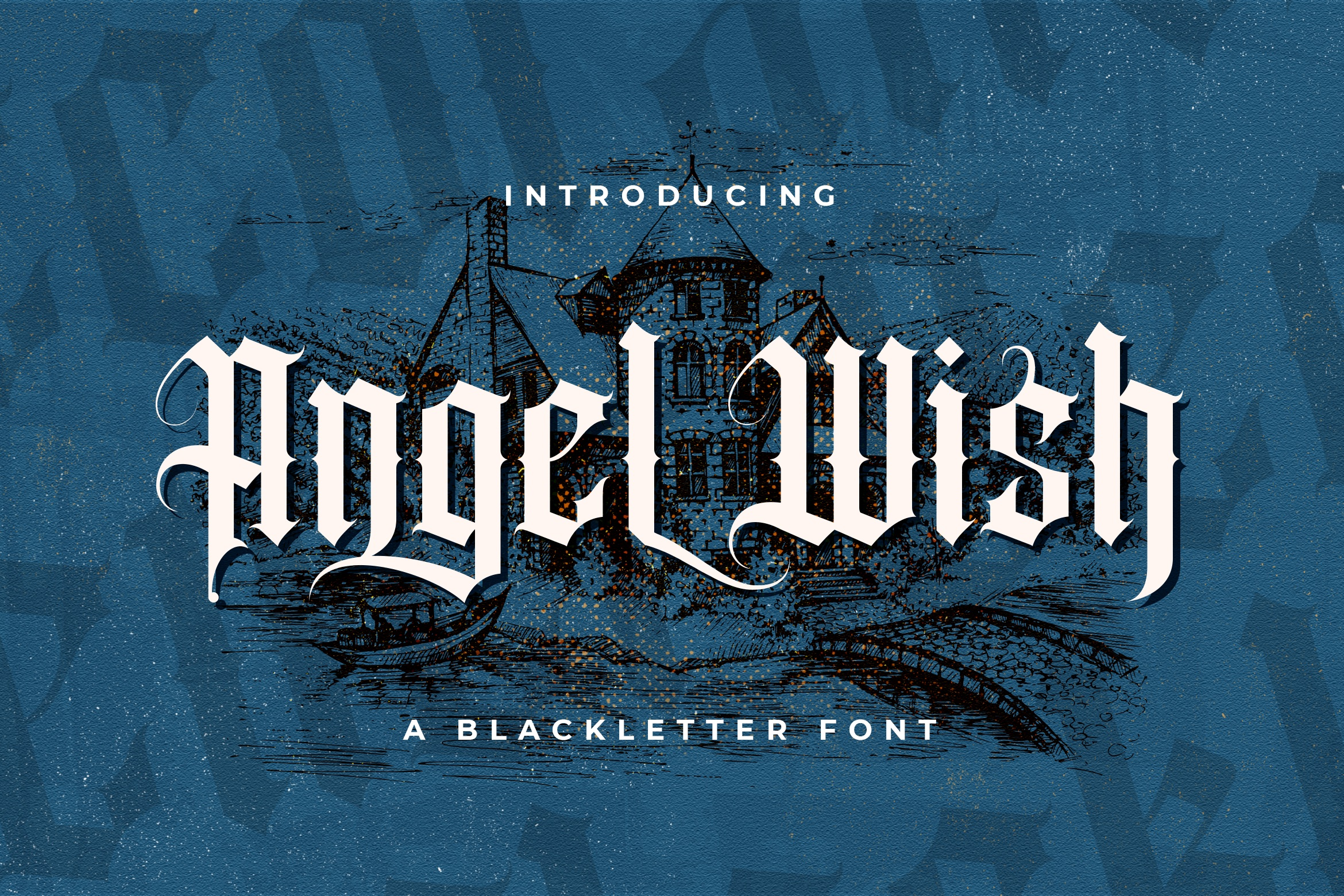 Angel Wish Blackletter Font-1