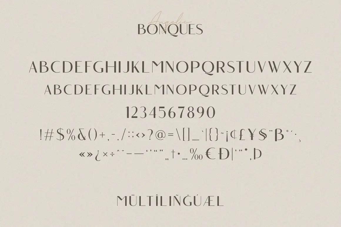 Angelic Bonques Sans Serif Font Duo-4