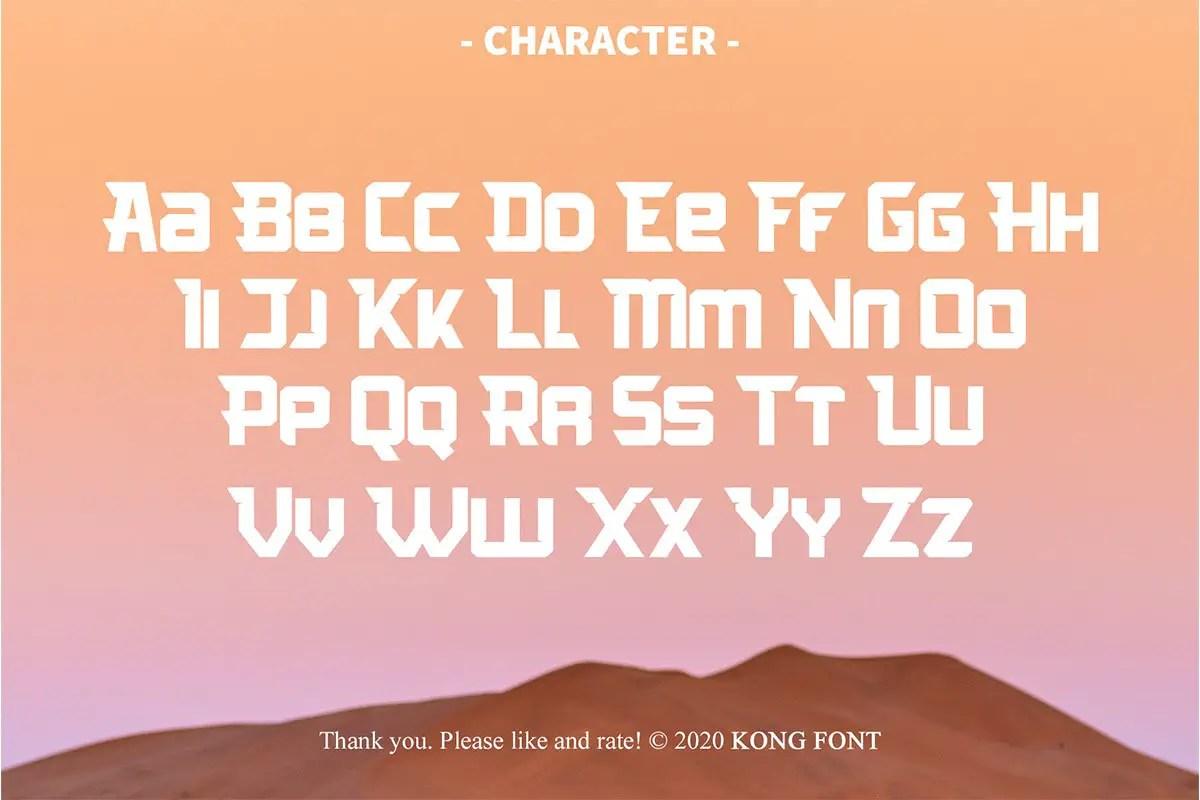 Arcades Display Font-3