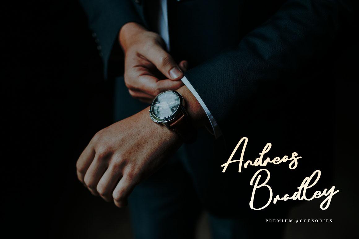 Arthens Bold Signature Script Font-2