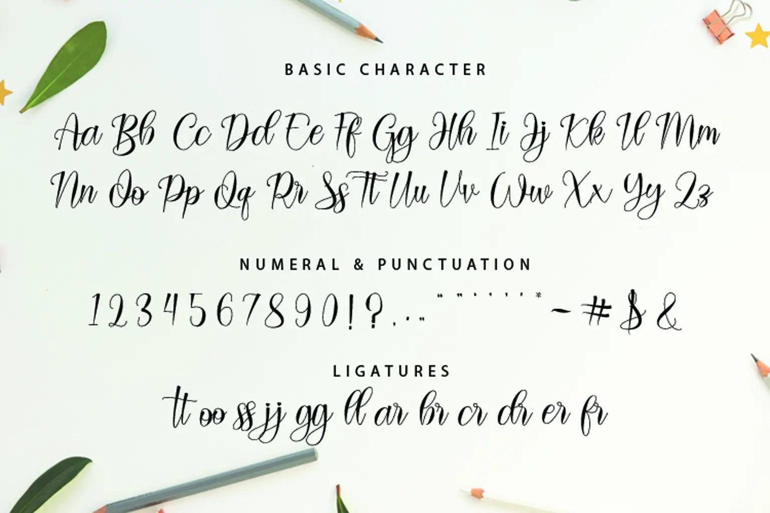 Ayella Handwritten Script Font-3