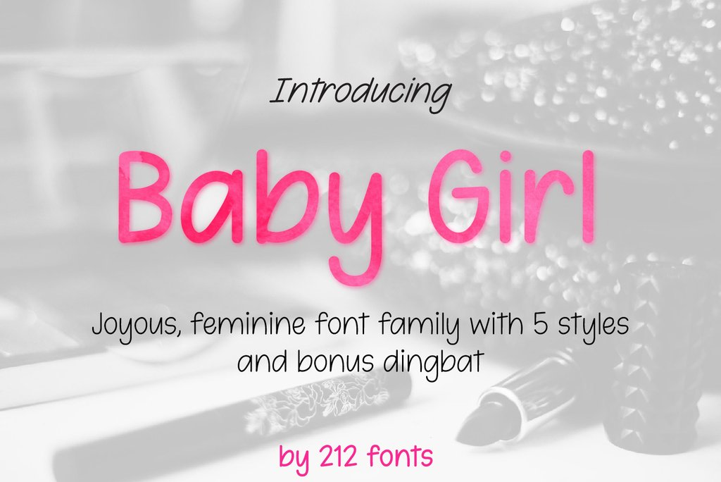 Baby Girl Handwritten Font-1