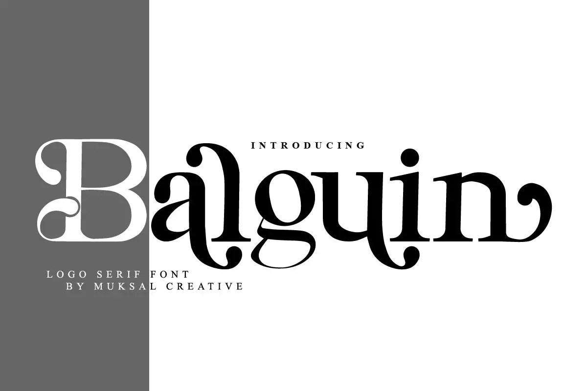 Balguin Serif Font-1