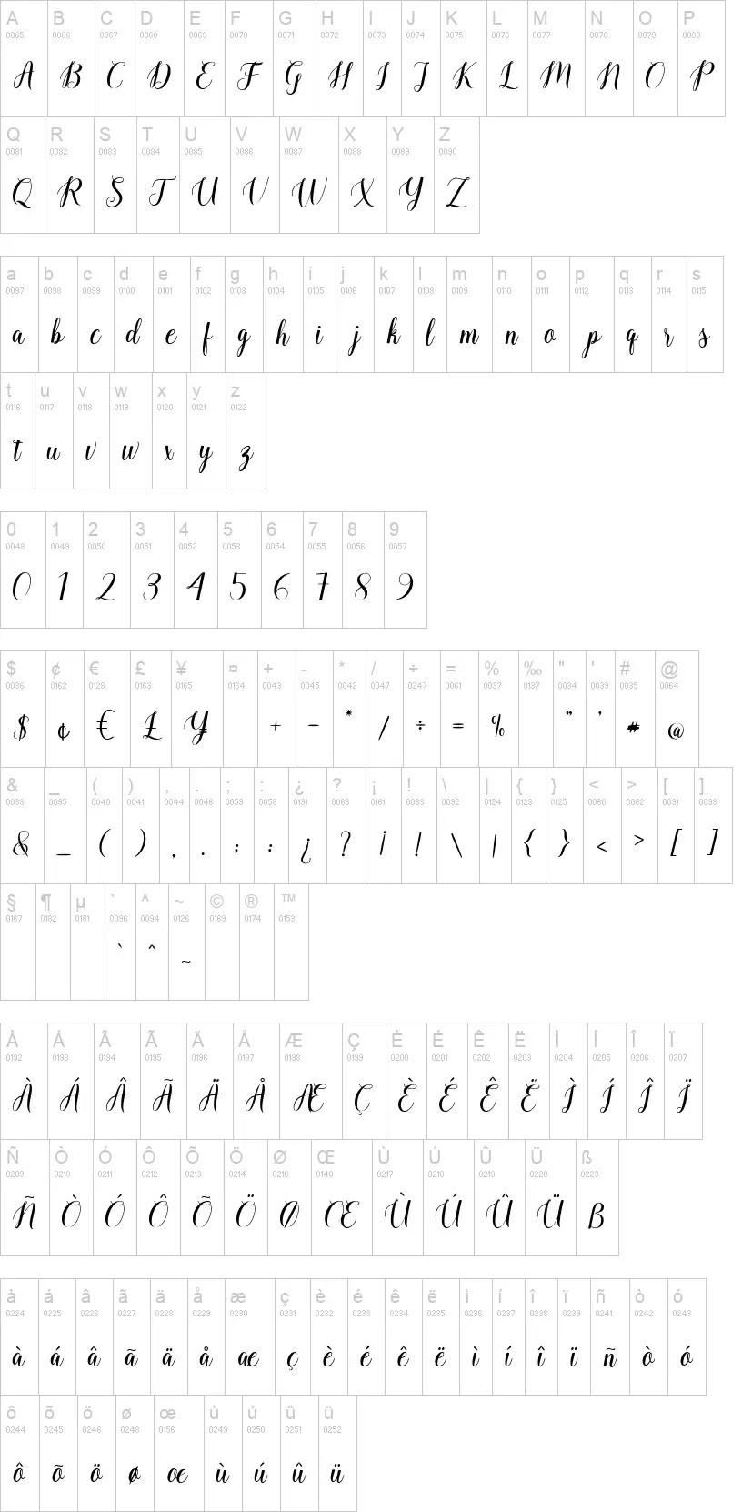 Ballerina Calligraphy Script Font-3