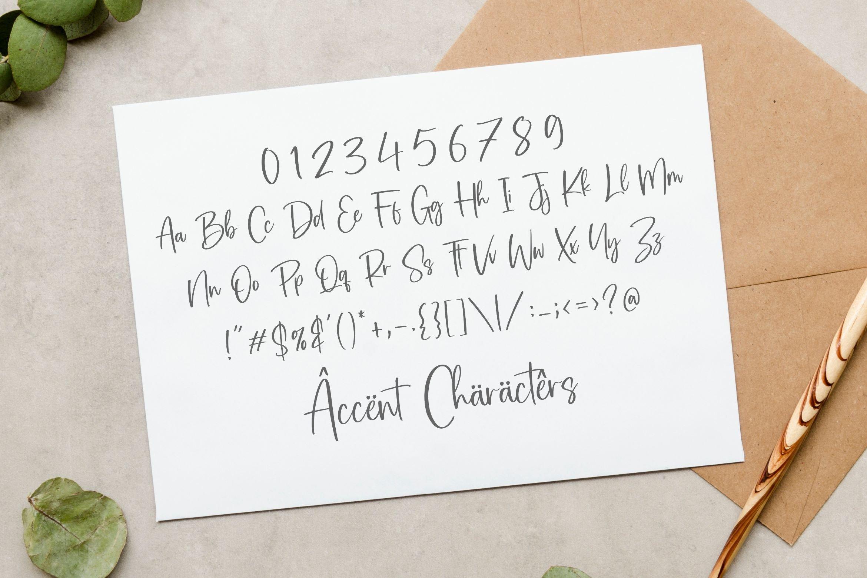Bartes Malaga Calligraphy Script Font-3