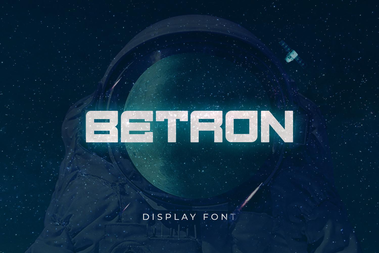Betron Display Font-1