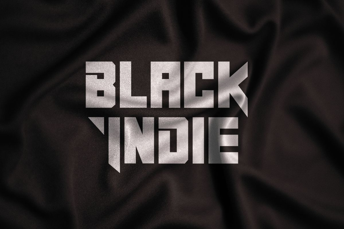 Black Indie Display Font-1