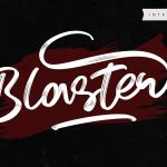 Blaster Script Handwritten Font