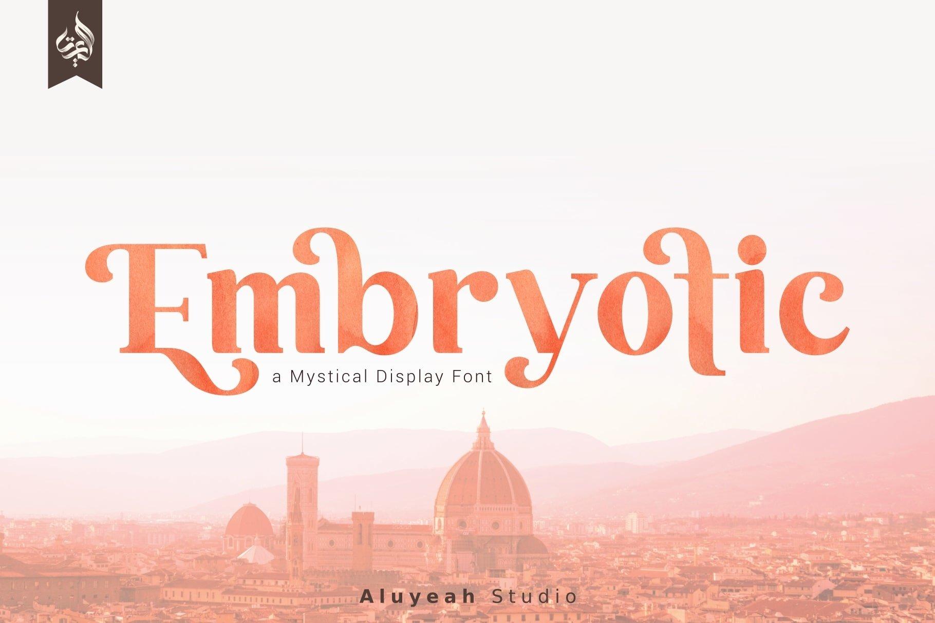 Bonjour Mystical Display Font-1