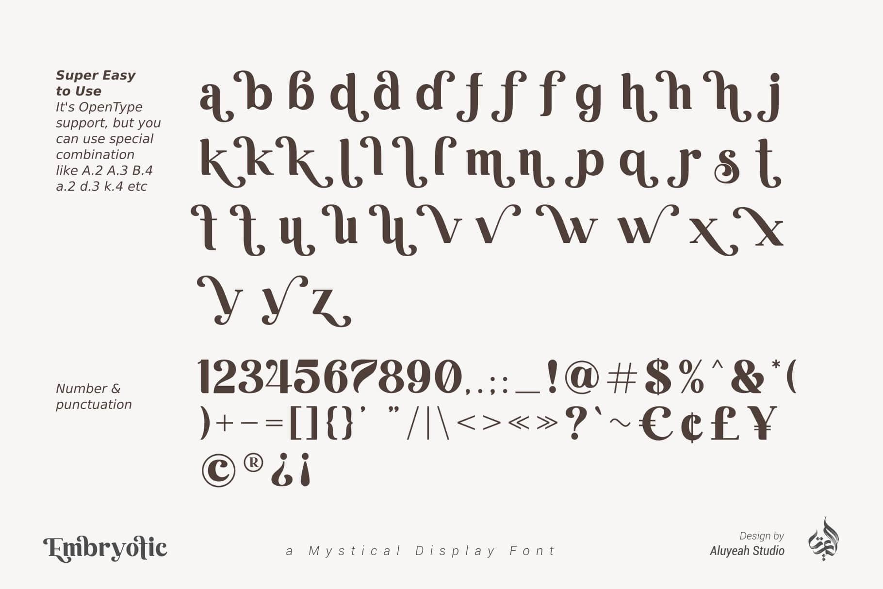 Bonjour Mystical Display Font-4