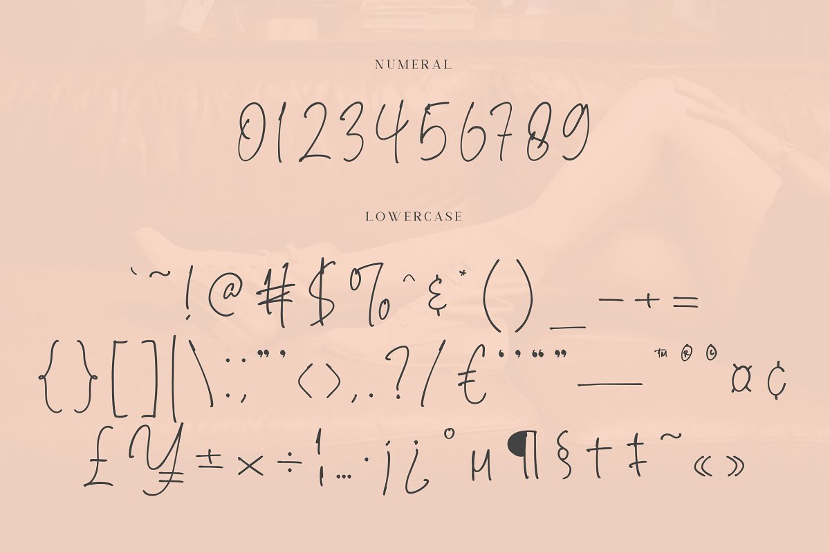 Brendria Handwritten Signature Font-4
