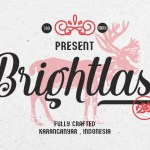 Brightlast Handwritten Script Font