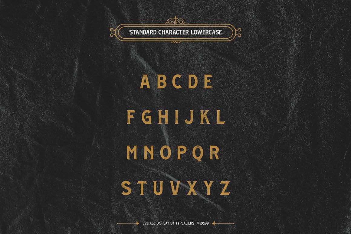 Brighton Spring Serif Font-3