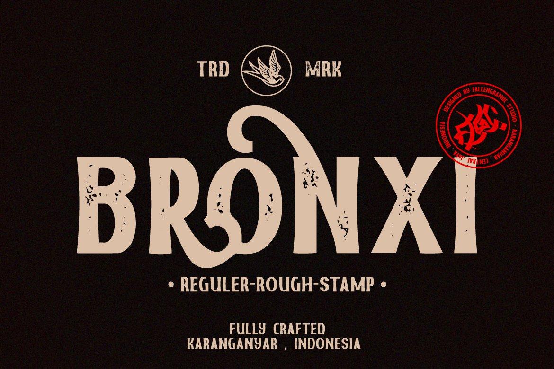 Bronxi Vintage Sans Font Family-1