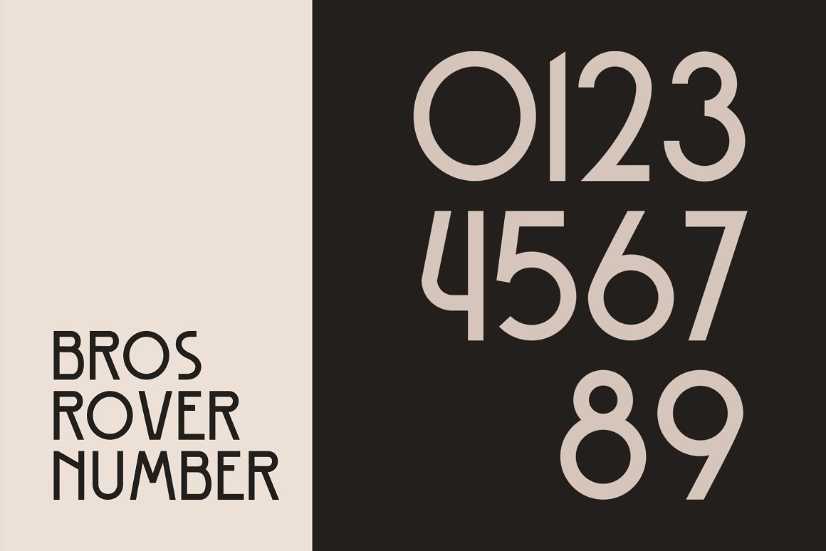 Bros Rover Classic Sans Serif Font-3