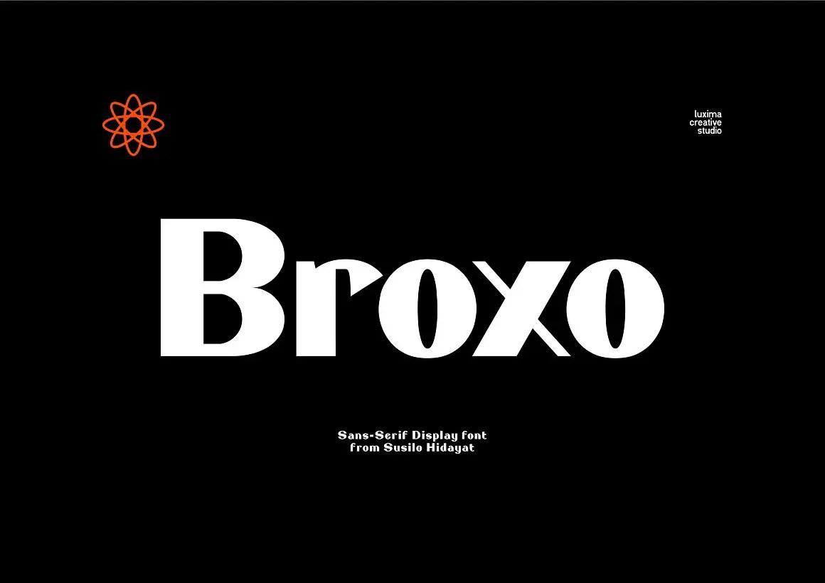 Broxo Stylish Sans Serif Font-1