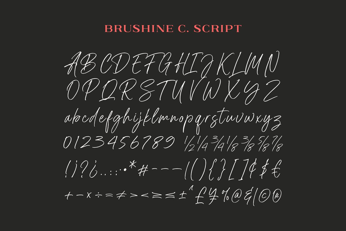 Brushine Collective Display Font Duo-4