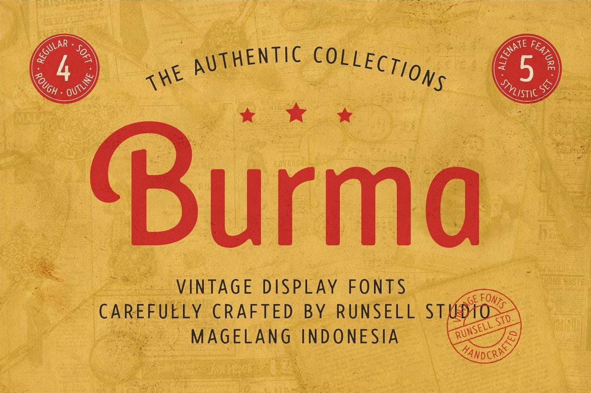 Burma Sans Serif Font Family-1